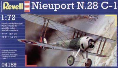 4189 - Nieuport N.28 1/72