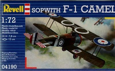 4190 - Sopwith F.1 Camel 1/72
