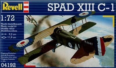 4192 - SPAD XIII C-1 1/72
