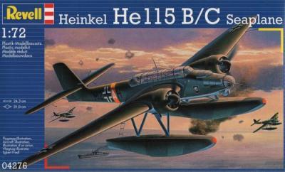 4276 - Heinkel He 115 Seaplane 1/72