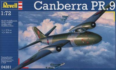 4281 - BAC/EE Canberra PR.9 1/72