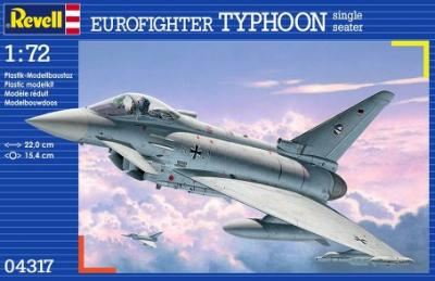 4317 - Eurofighter EF-2000A Typhoon Single Seater 1/72