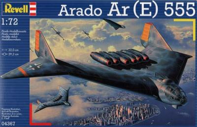 4367 - Arado E.555 Strategic Bomber 1/72