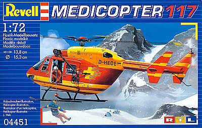 4451 - Medicopter 117 D-HEOE 1/72