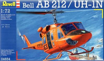 4654 - Bell-Augusta AB 212 Helicopter 1/72