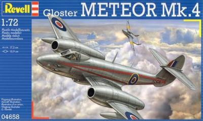 4658 - Gloster Meteor Mk.4 1/72