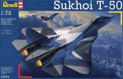 4664 - Sukhoi T-50 1/72