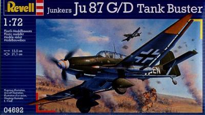 4692 - Junkers Ju 87G-2 Tank Buster 1/72