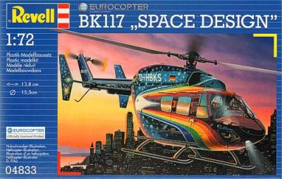 4833 - Eurocopter BK117 Space Design 1/72