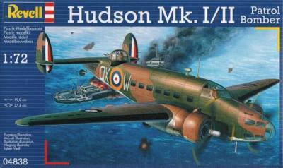 4838 - Lockheed Hudson Mk.I/II Patrol Bomber 1/72
