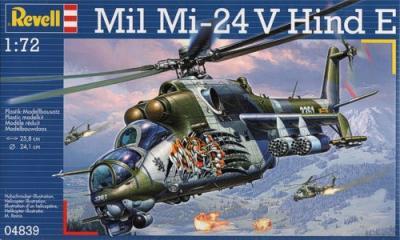 4839 - Mil Mi-24 Hind 1/72