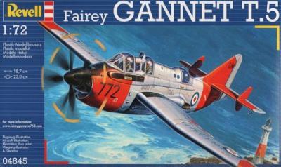 4845 - Fairey Gannet T.5 (Twin seater) 1/72