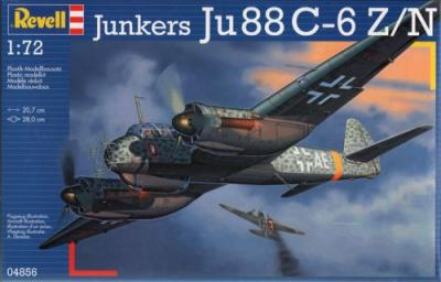 4856 - Junkers Ju 88C-6/N nightfighter or Ju 88C-6/Z Zerstoerer 1/72