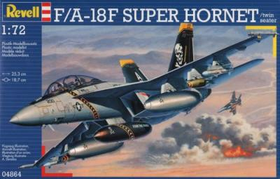 4864 - Boeing F/A-18F Super Hornet 1/72