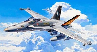 4894 - McDonnell-Douglas F/A-18C Hornet 1/72