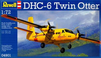 4901 - De-Havilland-Canada DHC-6 Twin Otter 1/72
