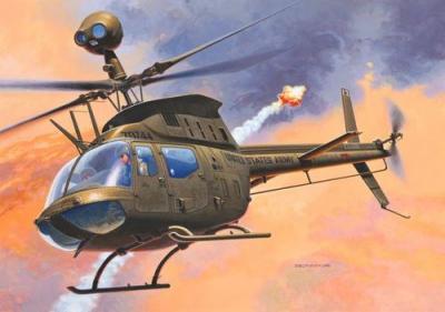 """4938 - Bell OH-58D """"Kiowa"""" 1/72"""