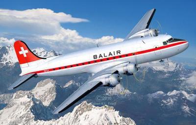 4947 - Douglas DC-4 Balair 1/72