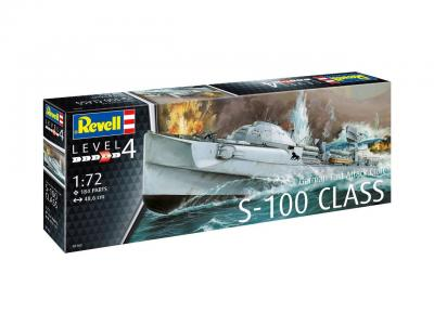 5162 - S-100 German Fast Attack Craft 1/72