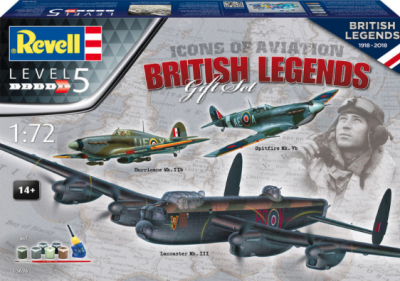 5696 - Icons of Aviation British Legends gift set 1/72