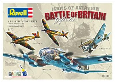 5711BB - Battle of Britain Gift Set (4 kits) 1/72