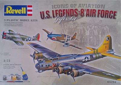 5794 - USAAF 8th AF Flying Legends Gift Set 1/72
