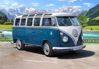 7009 - VW Type 2 T1 Samba Bus 1/16