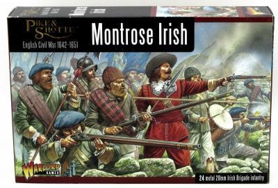 WLG WGP-10 Montrose Irish (English Civil War) Brigade Infantry ECW 28mm