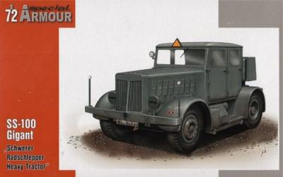 72001 - SS-100/ST-100W Hanomag tow tractor 1/72