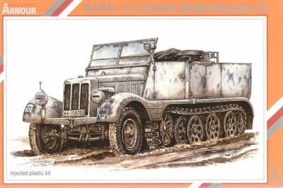 72002 - Sd.Kfz.11 Leichter Zugkraftwagen 3t.1/72