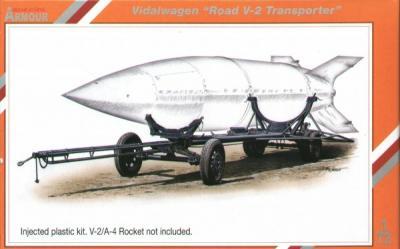 72009 - Vidawagen Street V-2 rocket transporter 1/72