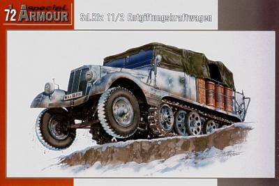 72010 - Sd.Kfz.11/2 Entgiffungskraftwagen 1/72