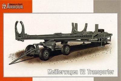 72012 - Meillerwagen A4/V-2 transporter 1/72