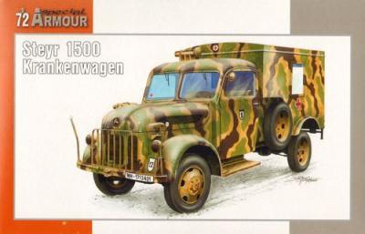 72016 - Steyr 1500 Krankenwagen/Wood Cab 1/72