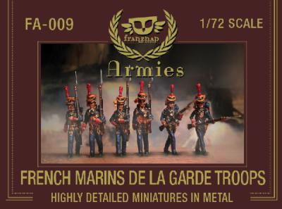 FA-009 - French Marins de la Garde 1/72