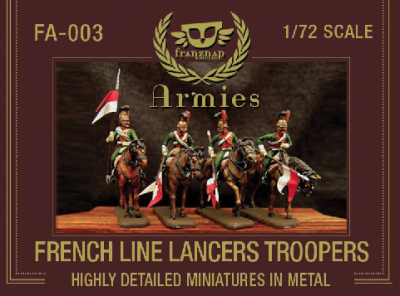 FA-003 - French Line Lancers Troopers 1/72