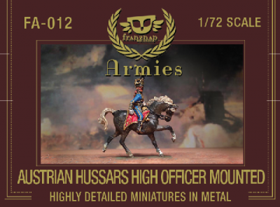FA-012 - Austrian Hussars High Officer 1/72