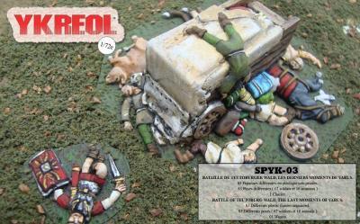 SPYK03 - Bataille de Teutoburger Wald, les derniers moments de Varus 1/72