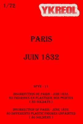 SPYK11 - Insurrection de Paris, Juin 1832 1/72