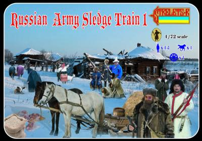 135 - Russian Army Sledge Train 1/72