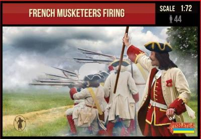 234 - French Musketeers Firing 1/72
