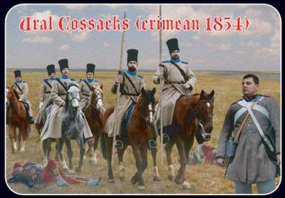 064 - Crimean War Ural Cossacks 1/72