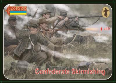158 - Confederate Skirmishing 1/72