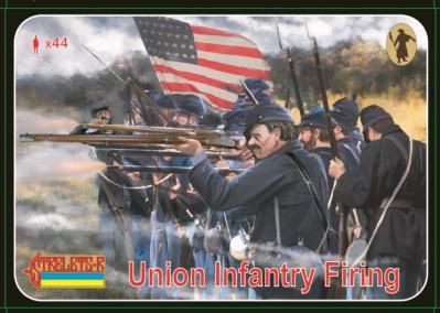 159 - Union Infantry Firing 1/72
