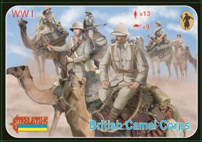 165 - British Camel Corps 1/72
