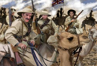 166 - Australian Camel Corps 1/72