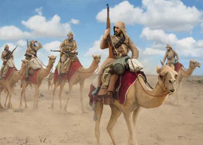 167 - Turkish Camel Corps 1/72