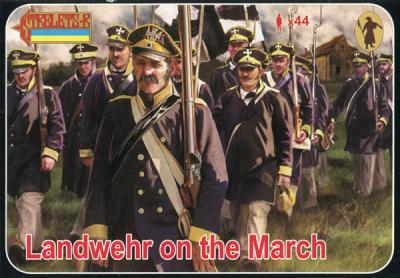 168 - Landwehr on the March 1/72