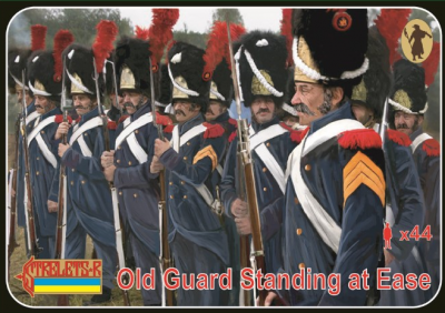 170 - Old Guard Standing at Ease 1/72