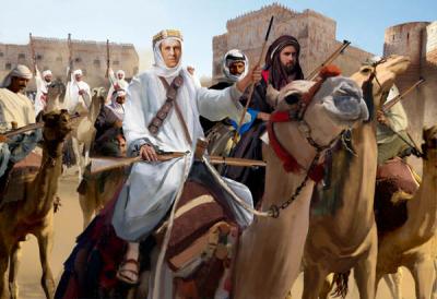 172 - Arab Uprising Arab Camel Riders 1/72